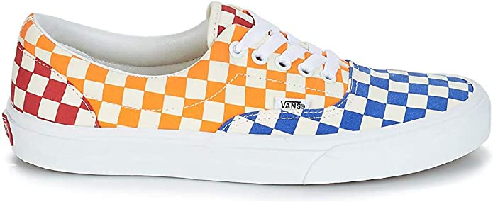 Vans Era Checkerboard Toile Homme Multi: