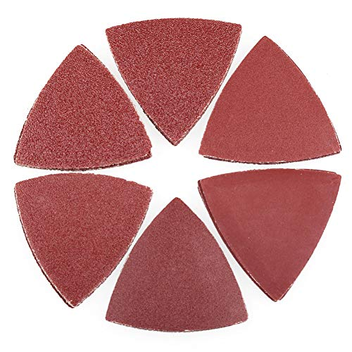 Sanding Pads for Oscillating Multitool - 60PCS Hook and Loop
