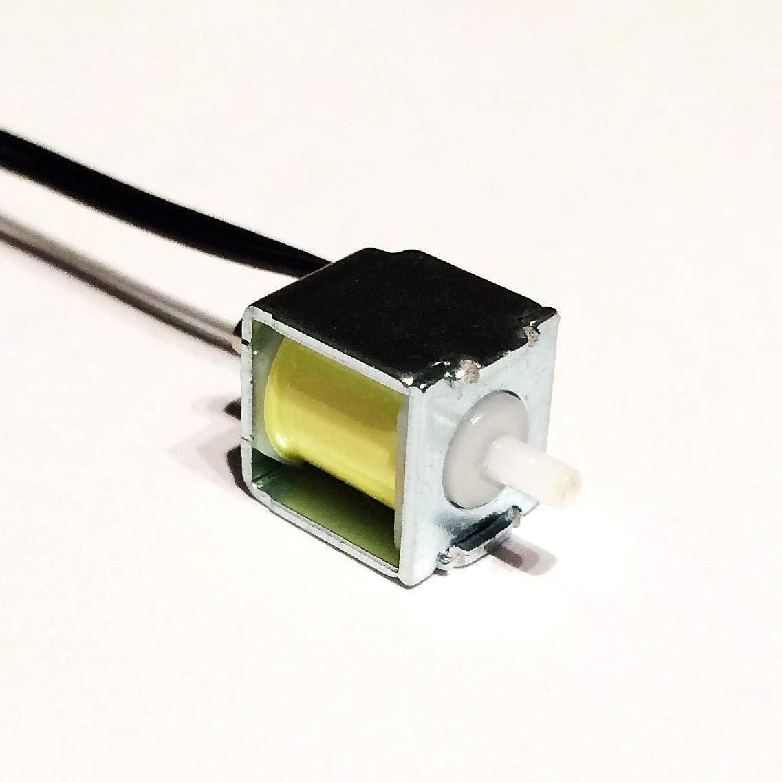 Set of 5pcs 1cmx1cm DC 3V NC Micro air Solenoid Exhaust Pneumatic Blood Pressure Miniature Valve