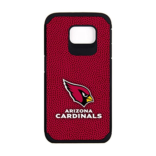 NFL Arizona Cardinals Football Pebble Grain Feel Samsung Galaxy S6 Case, Team ()