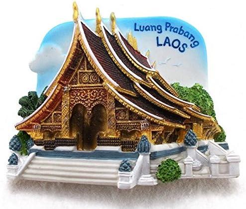 Luang Prabang LAOS TOURIST FreeShipping Resin 3D Fridge Magnet
