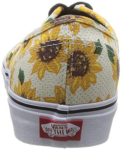 Vans U Authentic - Zapatillas Unisex adulto (sunflower) true white