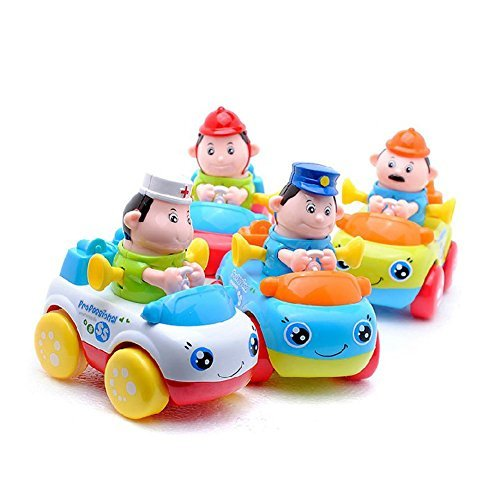 Fu T Baby Toddler Push Car, Tonka Trucks Friction Cars Children Baby Toys Gift For 1 To 3 Year Old Boys And Girls Puzzle Growth