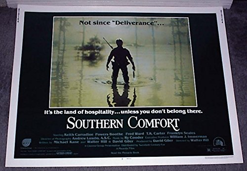 southern-comfort-original-1981-rolled-22x28-movie-poster-keith-carradine-powers-boothe-fred-ward