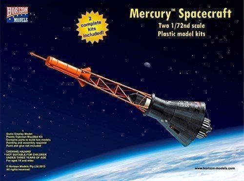 Horizon Models 1/72nd Scale Mercury Spacecraft Plastic Model Kit