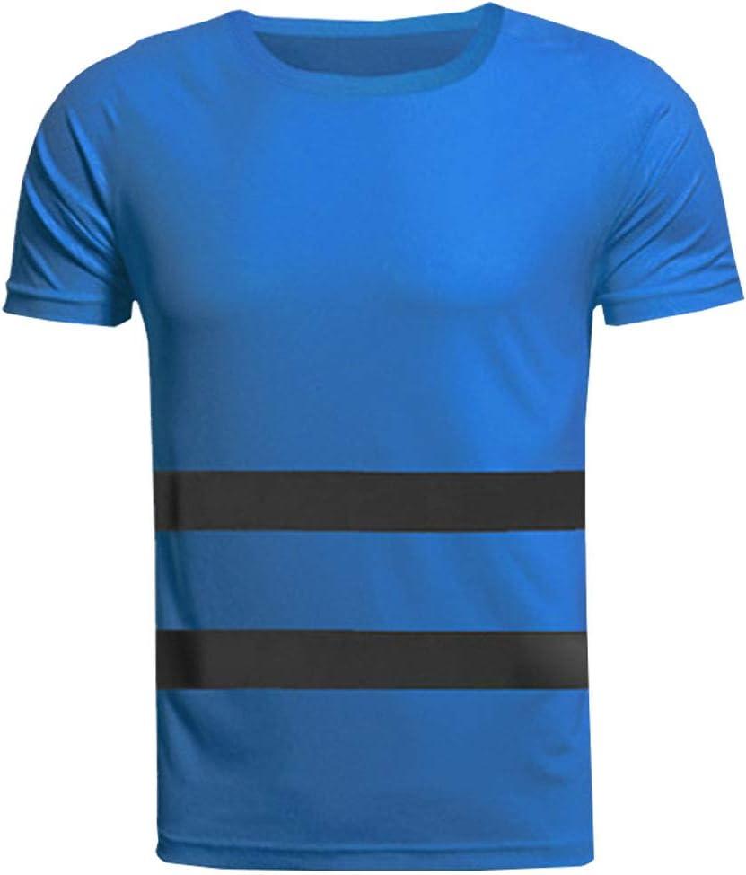 Xinvivion Camisas Reflectantes de Trabajo - Hombre Mujer ...