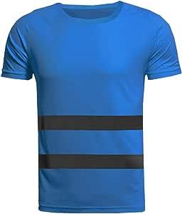 Xinvivion Camisas Reflectantes de Trabajo - Hombre Mujer Respirable Camisetas de Trabajo Alta Visibilidad Ligero Ropa de Seguridad: Amazon.es: Ropa y accesorios