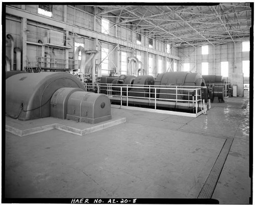 Photo: Crosscut Steam Plant,Tempe,Maricopa County,Arizona,AZ,HABS,Mill - Mills Arizona Tempe