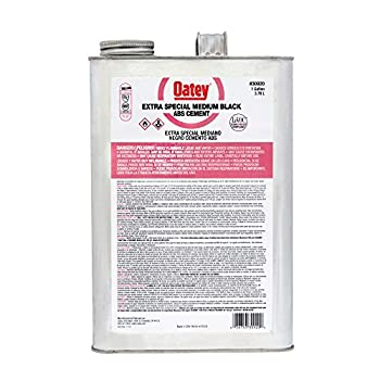 Oatey 30920 ABS Extra Special Cement, Black, Gallon
