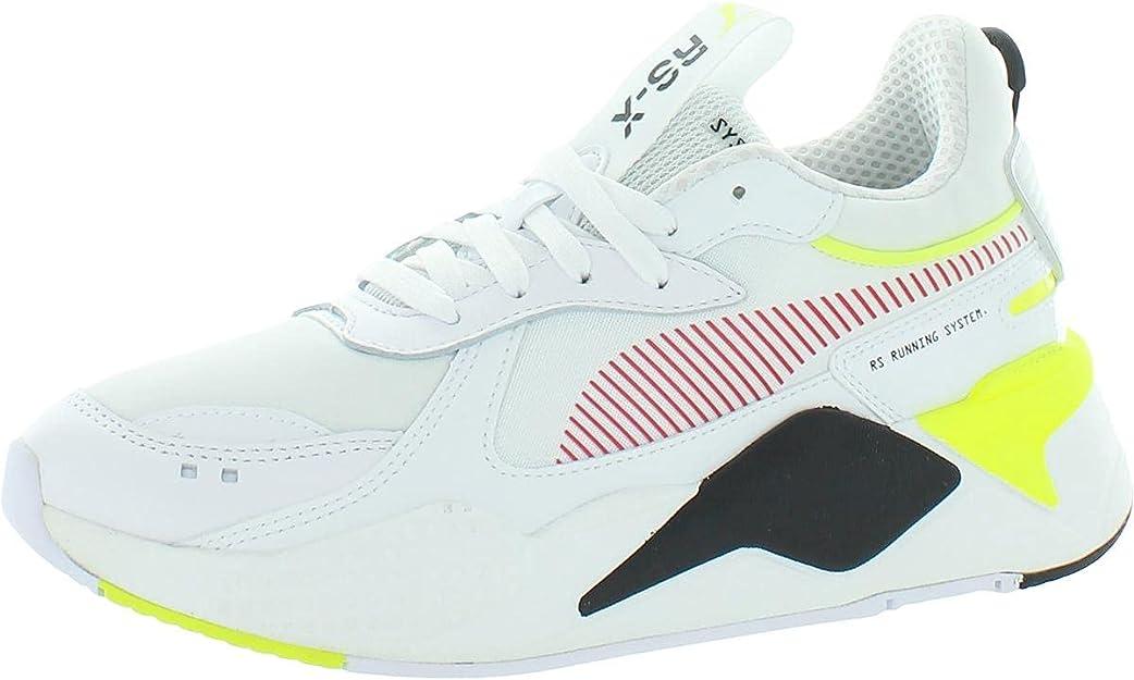 PUMA Unisex RS-X POP Sneaker, Black White, 13 UK: Amazon