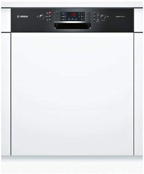 Bosch SMI46JB03E - Lavavajillas integradas, 60 cm, color negro ...