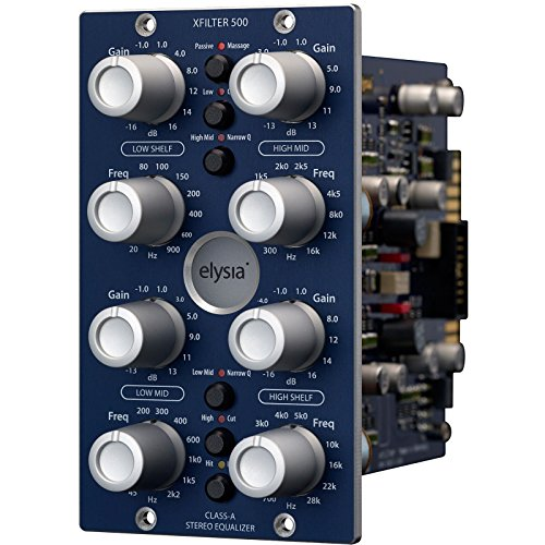 Elysia X FILTER 500 Series Class A Stereo Equalizer by Elysia