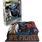 Batman Vs Superman Comic Book Theme Illustrated 46 Piece Floor Puzzle - Ages 3+