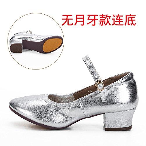 argenty Trente-neuf Wuyulunbi@ Avec chaussures Chaussures fond mou Chaussures de Danse Danse