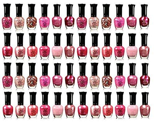 4 Sets Kleancolor Collection - Awesome Pink Colors Assorted Nail Polish ...