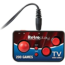 DREAMGEAR DGUN-2579 My Arcade Retroplay Plug & Play Controller with 200 Games