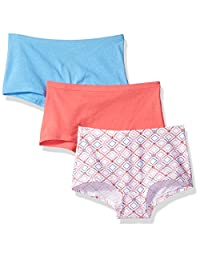 Hanes Big Girl's Comfortsoft 3 Pack Boyshorts