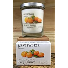 Pure Energy Apothecary Satsuma Soap and Candle Set
