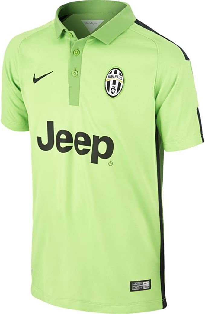 Juve SS third reply jersey Green 14/15 Juventus Nike: Amazon.es ...