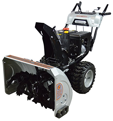 Dirty Hand Tools 103879 Self-Propelled – Electric Start 302cc Dual Stage Gas – 30″ Snow Blower