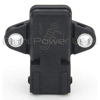 OMNI-Power compatible with Mitsubishi EVO and Eclipse Plug and Play 4 Bar MAP Sensor: Automotive