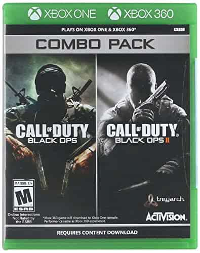 Amazon.com: Activision Call of Duty: Black Ops 1 & 2 Combo ...