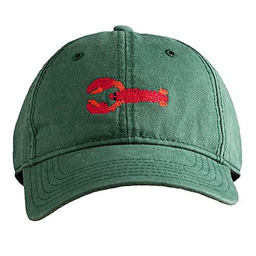 Harding-Lane Lobster Hat Hunter Green OS ()