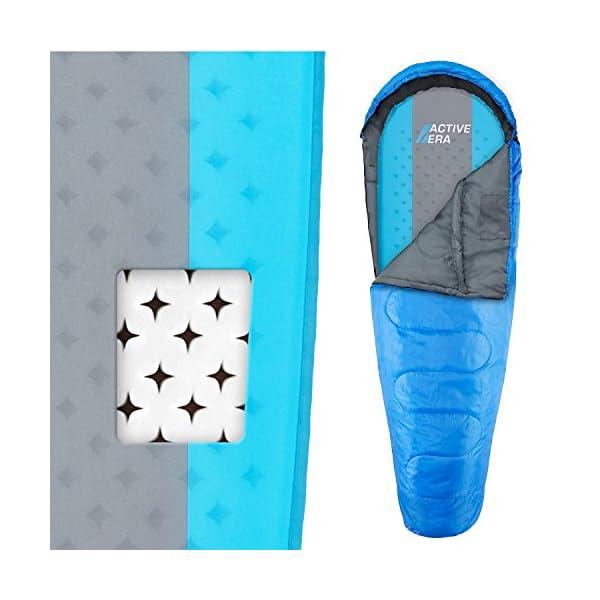 Active Era Hochwertige Selbstaufblasende Schlafmatte für Camping - Ultraleichte, Scheuerfeste und Wasserfeste Schaum…