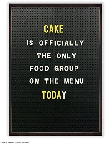 Funny Humorous Cake Menu Novelty Postcard