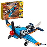 Toys : LEGO Creator 3in1 Propeller Plane 31099 Flying Toy Building Kit, New 2020 (128 Pieces)