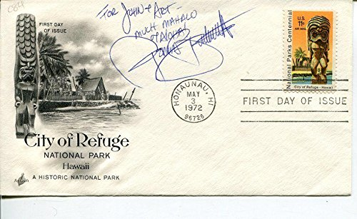Donna Butterworth Paradise Hawaiian Style The Family Jewels Signed Autograph FDC ()