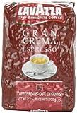 Lavazza Gran Crema Espresso, 2.2-Pound - Pack of 2