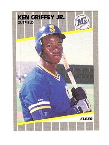 - 1989 Fleer Ken Griffey Jr #548 NM Near Mint RC Rookie