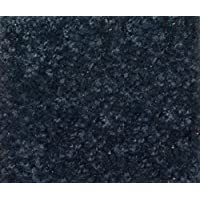 Area Rug Carpet. OCEAN STORM BLUE GREY 30 oz. ½ Thick. 100% Polyester fiber, Medium Density, Soft and Durable. MULTIPLE SIZES, SHAPES and Brilliant Colors.