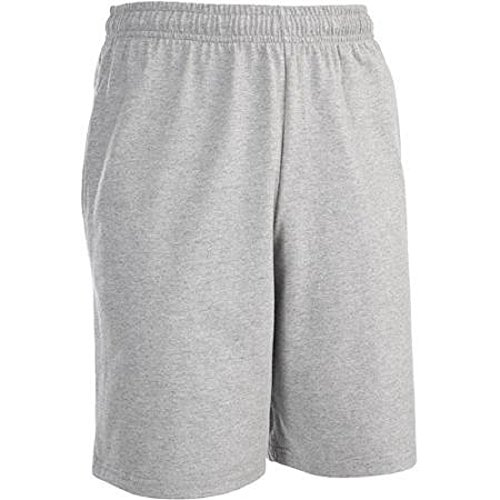 Cotton Jersey Knit Shorts (Fruit of the Loom Men's Knit Short - All Colors (Large (Waist 36