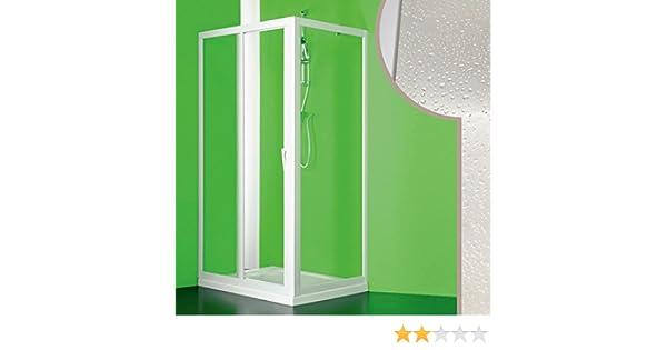 Cabina de ducha de acrílico modelo Mercurio con apertura central, 70 x 140 cm: Amazon.es: Hogar