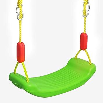 Columpio Infantiles Asiento Columpio Jardin y Interior Casa con Cuerda Ajustable y Ganchos Carga MAX 200Pounds Oscilación para Niños 3 4 5: Amazon.es: Juguetes y juegos