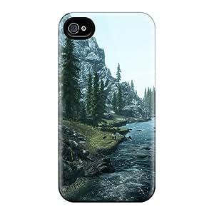AnnaDubois Iphone 6 Great Hard Cell-phone Cases Customized Lifelike Skyrim Pattern [AZh16302nvQU]