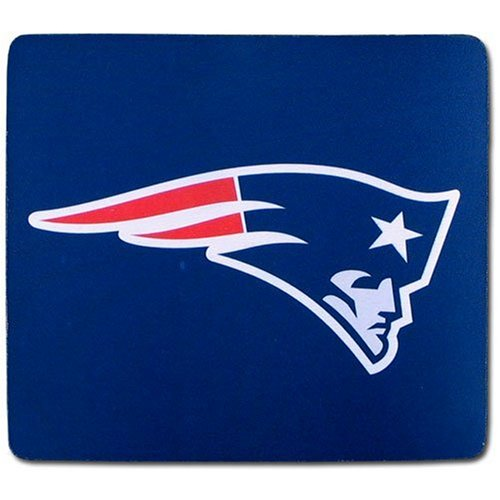 NFL New England Patriots Neoprene Mouse (New England Patriots Team Mouse)