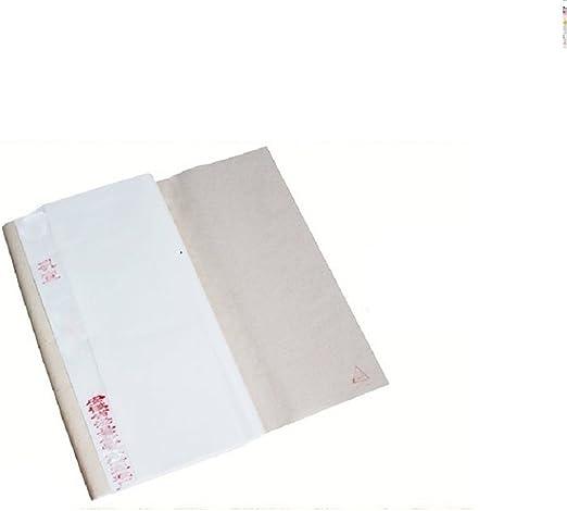 100 Feuilles de Papier de Riz Papier Xuan pour /Écriture Calligraphie Peinture Chinoise Papier Semi-trait/é, 34 * 138cm*100 Feuilles