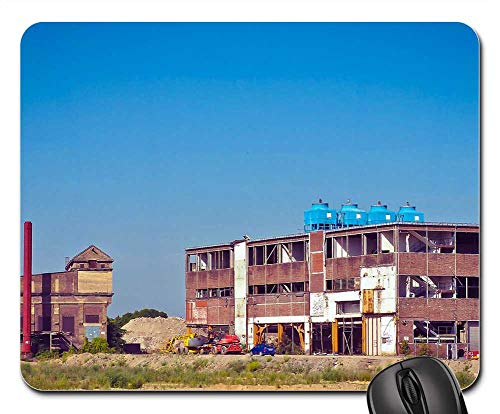 Mouse Pad - Architecture Factory Old Factory Industry Building 2 ()