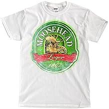 Moosehead Logo - Vintage White T-Shirt