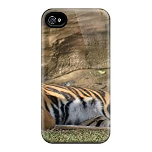 Perfect Lying Tiger Cases Covers Skin For Iphone 6 Phone Cases