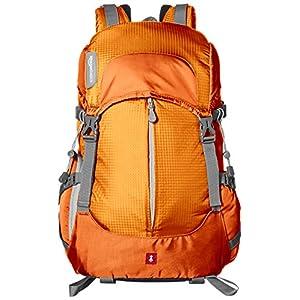 AmazonBasics - Zaino per fotocamera, serie Hiker, Arancione 1 spesavip