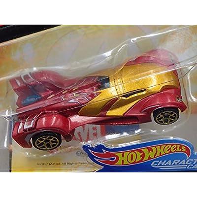 Hot Wheels Character Cars 2020 - Marvel Avengers Infinity War - Iron Man,Burgundy Metallic: Toys & Games