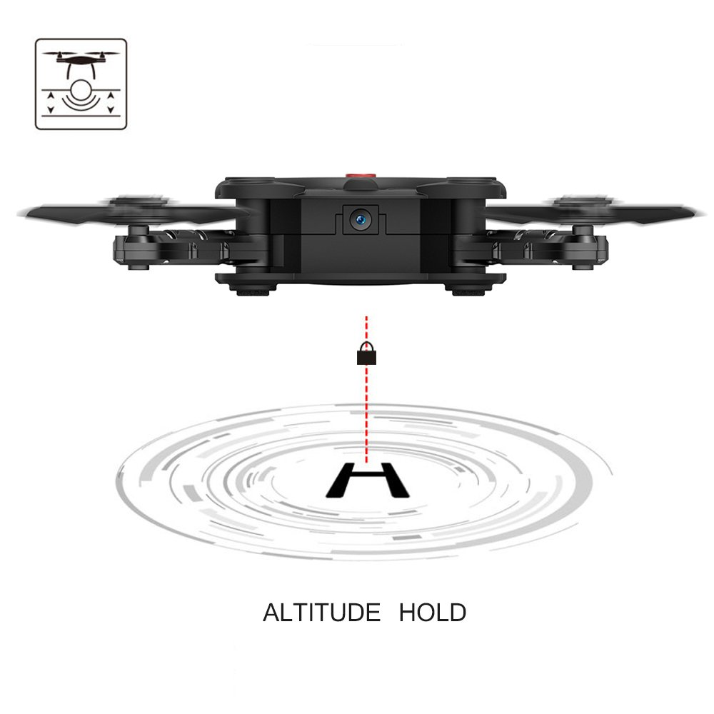 Kidcia launches an innovative Quadcopter drone with Flexible Foldable & Aerofoils 6-Axis Gyro Gravity Sensor on its Amazon store