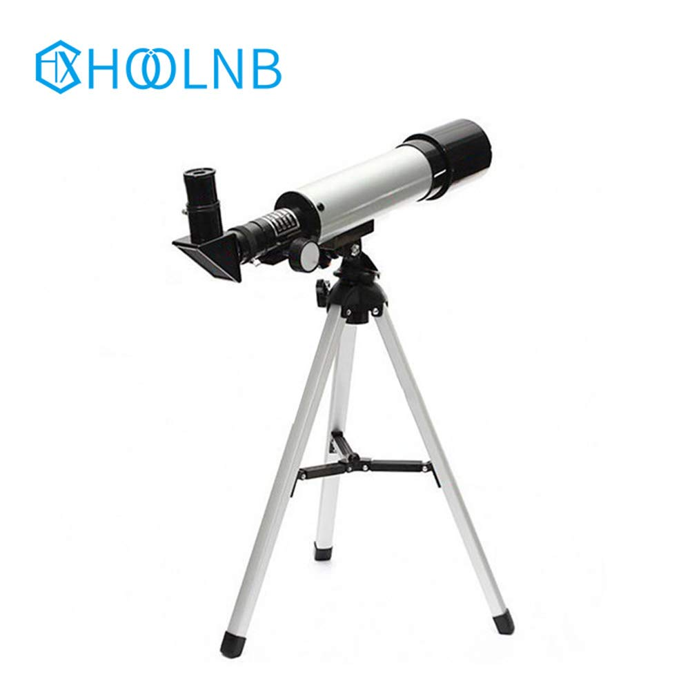 HOOLNB Monocular Outdoor Spotting Telescope with Tripod 90 Times Zooming Astronomical Telescope Best Gift for Space Observation Watching Moon Stars by HOOLNB