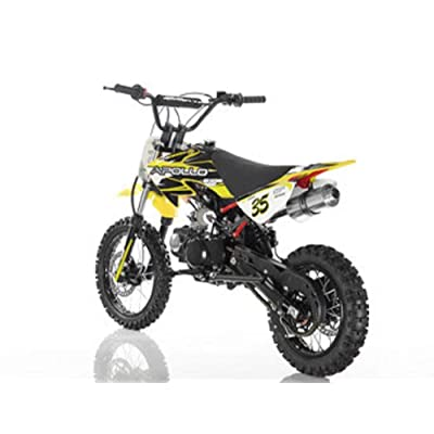 APOLLO New 125cc Youth DB35 - Dirt Bike : Sports & Outdoors