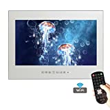 Soulaca 42'' Big Screen Bathroom Mirror TV Waterproof Mount LED Hotel Advertising TV
