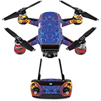 Skin for DJI Spark Mini Drone Combo - Melting| MightySkins Protective, Durable, and Unique Vinyl Decal wrap cover | Easy To Apply, Remove, and Change Styles | Made in the USA